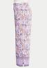 Plus Size Lavender Floral Palazzo Pants alt view