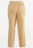Plus Size Straight Leg Ponte Pants alt view