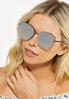 Geo Rimless Sunglasses alt view