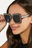 Embellished Square Sunglasses alt view