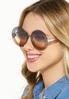 Jenna Ombre Round Sunglasses alt view