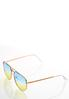 Ombre Ocean Aviator Sunglasses alternate view