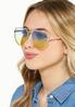 Jenelle Ombre Aviator Sunglasses alt view
