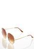 Josie Oversized Round Sunglasses alternate view