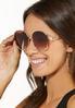 Josie Oversized Round Sunglasses alt view