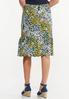 Plus Size Sunflower Fields Midi Skirt alternate view