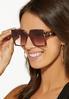 Farrah Tortoise Sunglasses alt view