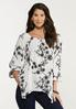 Embroidered Off Shoulder Tunic alt view