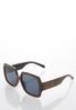 Snakeskin Square Sunglasses alternate view