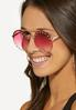 Pretty In Pink Sunglasses alt view