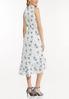 Plus Size Dotted Daisy Midi Dress alternate view