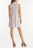 Plus Size Stripe Linen Dress alternate view