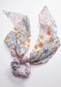 Floral Scarf Ponytail Scrunchie alternate view