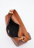 Chain Detail Cognac Handbag alt view