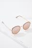 Rose Gold Glittery Sunglasses alternate view