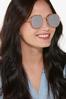 Rose Gold Glittery Sunglasses alt view