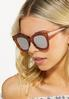 Tortoise Mirrored Sunglasses alt view