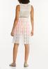Plus Size White Crochet Vest alternate view