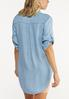 Plus Size Chambray Pullover Top alternate view