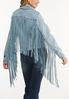 Fringe Denim Jacket alternate view