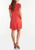 Plus Size Ruffle Pocket Swing Dress alternate view