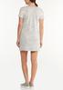 Plus Size Casual Lace Trim Dress alternate view