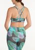 Plus Size Abstract Sports Bra alternate view