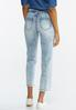Belted Straight Leg Jeans alternate view