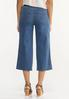 Cropped Wide Leg Jeans alternate view
