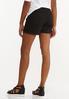 Black Denim Shorts alternate view