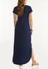 Plus Size Knotted Maxi Dress alternate view