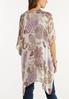 Paisley Sequin Thread Kimono alternate view
