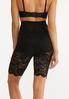 Plus Size Lace Shapewear Shorts alternate view