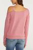 Plus Size Cold Shoulder Sweatshirt alt view