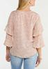 Plus Size Ruffled Floral Poet Top alternate view