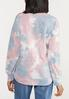 Distressed Tie Dye Sweatshirt alternate view