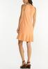 Plus Size Textured Halter Swing Dress alternate view