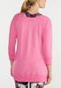 Plus Size Solid Brushed Color Sweatshirt alternate view