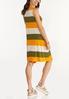 Plus Size Citrus Colorblock Dress alternate view