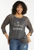 Plus Size Fearlessly Authentic Top alt view