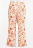 Plus Size Orange Blossom Linen Pants alternate view