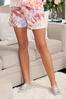 Plus Size Tie Dye Lounge Shorts alt view