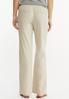Petite Drawstring Linen Pants alternate view