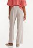 Striped Smocked Linen Pants alternate view