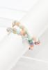 Cross Charm Beaded Bracelet Set alternate view
