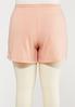Plus Size Soft Fleece Shorts alternate view