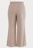 Plus Size Pink Hacci Lounge Pants alternate view