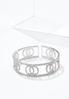 Rhinestone Flex Cuff Bracelet alternate view