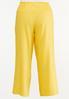 Plus Size Smocked Linen Pants alternate view