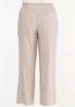 Plus Size Striped Smocked Linen Pants alternate view